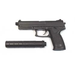 Galingas airsoft pistoletas - MK23 SOCOM su duslintuvu!
