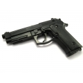 Airsoft green gas pistol Beretta M92F (M9) - powerful!