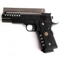 Aluminum Alloy Colt M1911 Hicap Mod Airsoft Pistol (BB Gun)