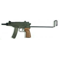 Scorpion vienašūvis airsoft ginklas su metaline buože