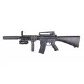 Cheapest airsoft M4 spring gun with laser and flashlight