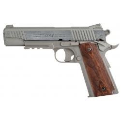 Colt M1911 CO2 pistoletas metaline spyna