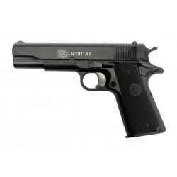 Spyruoklinis pistoletas COLT M1911 A1 metaline spyna