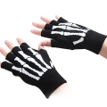 Fingerless gloves with finger bones picture