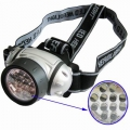 Ant galvos nešiojamas 12 LED prožektorius