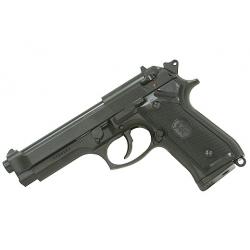 Galingas Beretta M9 dujinis pistoletas su vaikščiojančia spyna (GBB)