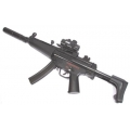 MP5 airsoft AEG submachine gun with silencer
