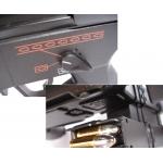 Elektrinis MP5 automatas su 2 dėtuvėm, duslintuvu, kolimatoriumi