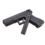 Metalinis elektrinis pistoletas Glock - pusiau/pilnai automatinis, metalinės dalys