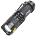 Super bright CREE LED focusable flashlight