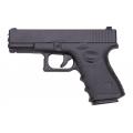 Metalinis originalaus dydžio Glock vienašūvis pistoletas