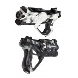 2 lazeriniai pistoletai kovoms tarpusavyje