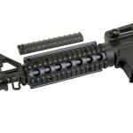 M4A1 vienašūvis airsoft šautuvas su metalinėmis dalimis
