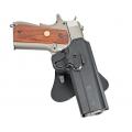 Plastikinis kietas dėklas pistoletams