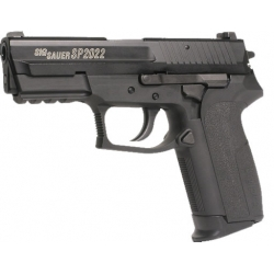 Airsoft CO2 pistoletas Sig Sauer SP2022 su metaline spyna