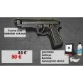 LIKO 2! Taurus CO2 rinkinys - pistoletas, taikinys, šoviniai, akiniai