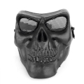 Skull plastic face protection mask