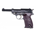 Walther P38 airsoft spring pistol with metal parts