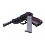 Walther P38 vienašūvis pistoletas su metalinėmis dalimis