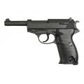 Walther P38 airsoft metalinis vienašūvis pistoletas