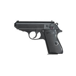 Walther PPK/S vienašūvis pistoletas su metaline spyna